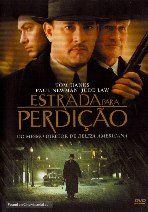 Road to Perdition - Brazilian DVD movie cover