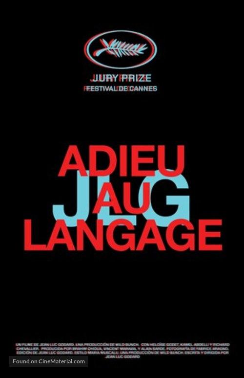 Adieu au langage - French Movie Poster