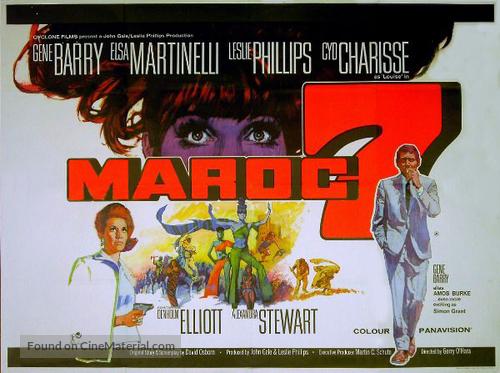 Maroc 7 - British Movie Poster