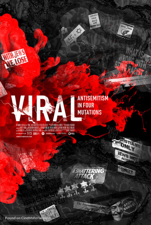 Viral: Antisemitism in Four Mutations - Movie Poster