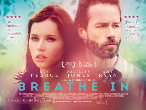 Breathe In - British Movie Poster
