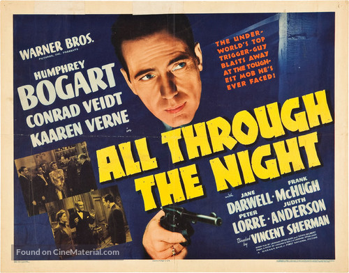 All Through the Night - Movie Poster