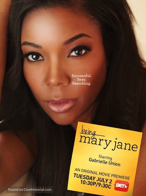 """Being Mary Jane"" - Movie Poster"