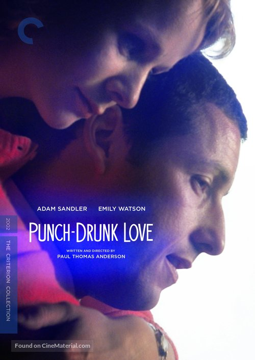 Punch-Drunk Love - DVD movie cover