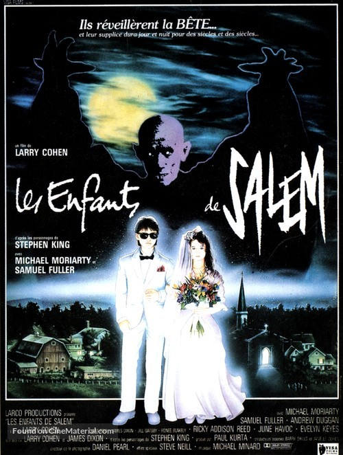 A Return to Salem's Lot - French Movie Poster