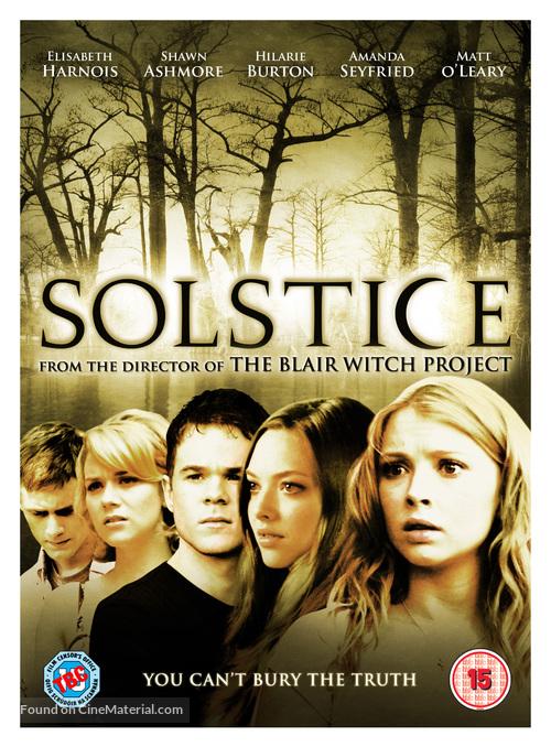 Solstice - British DVD cover