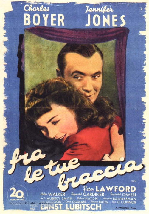 Cluny Brown - Italian Movie Poster