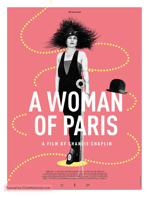 A Woman of Paris - Movie Poster