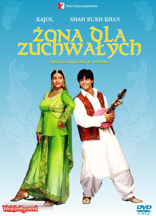 Dilwale Dulhania Le Jayenge - Polish DVD movie cover
