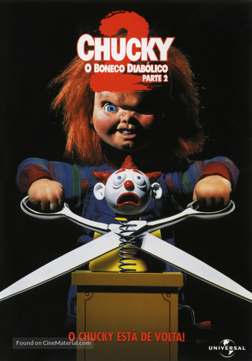 Child's Play 2 - Portuguese DVD movie cover