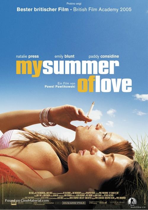 My Summer of Love - German Movie Poster