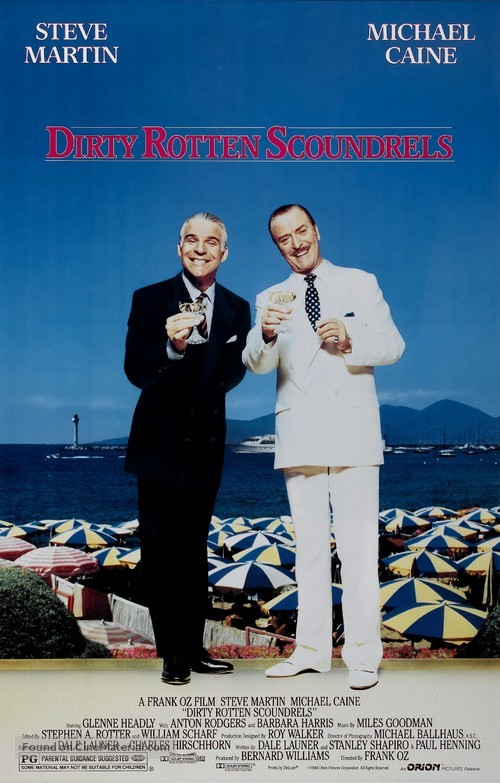 Dirty Rotten Scoundrels - Movie Poster