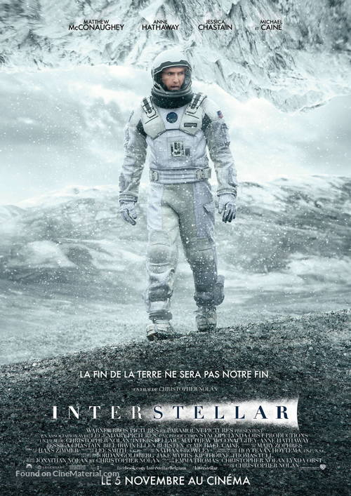 Interstellar - Belgian Movie Poster