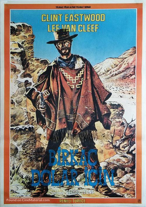 Per qualche dollaro in più - Turkish Movie Poster