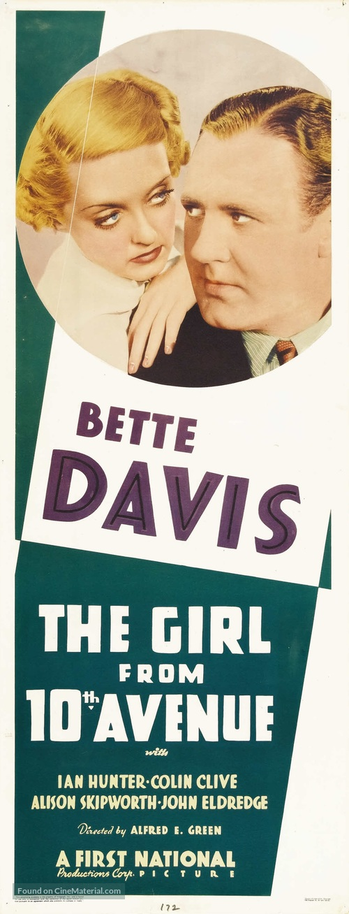 The Girl from Tenth Avenue - Movie Poster