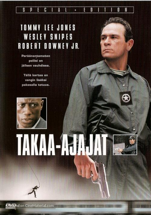 US Marshals - Finnish DVD movie cover