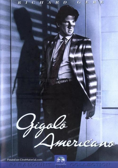 American Gigolo - Brazilian DVD movie cover