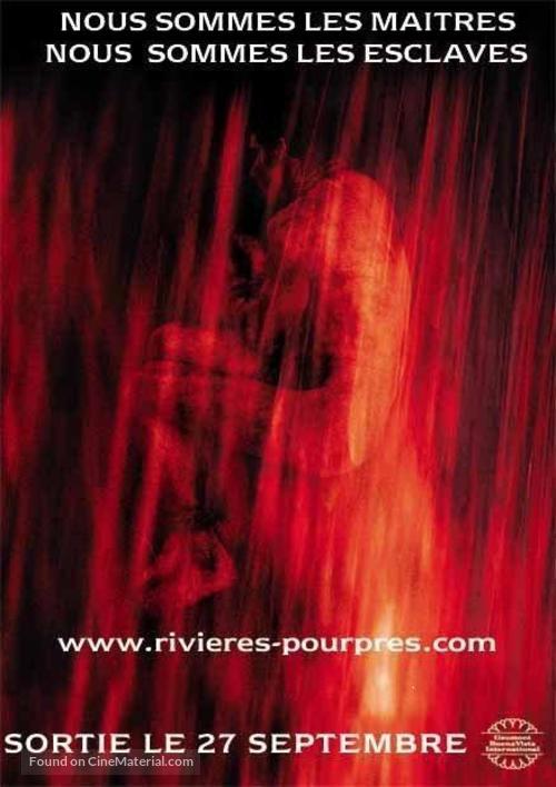 Les rivières pourpres - French Movie Poster