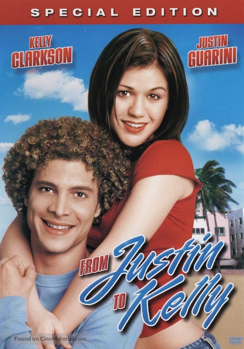 From Justin to Kelly - DVD cover