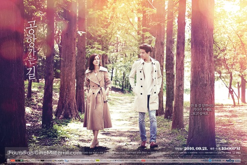 """Gonghang Ganeun Gil"" - South Korean Movie Poster"