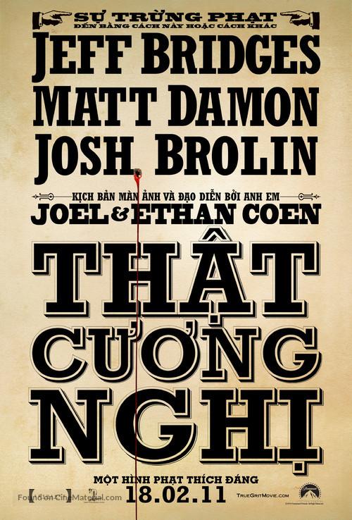 True Grit - Vietnamese Movie Poster