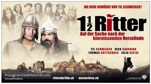 1 1/2 Ritter - Auf der Suche nach der hinreißenden Herzelinde - Swiss Movie Poster