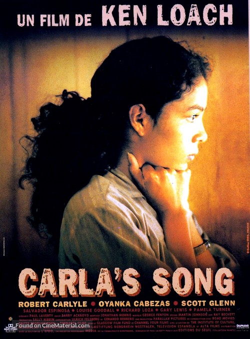 Carla's Song - French Movie Poster