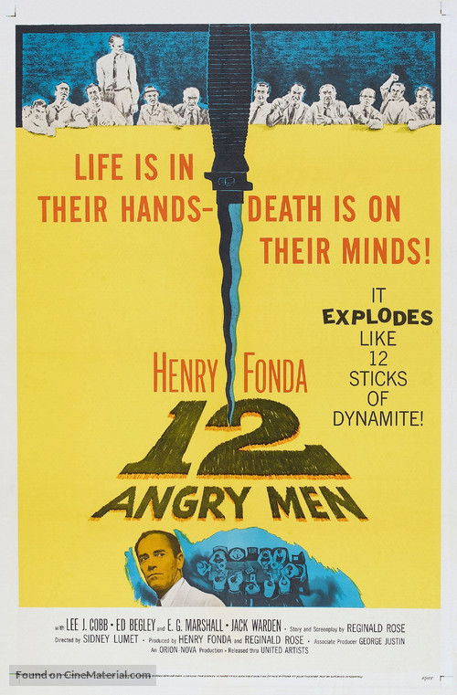 12 Angry Men - Theatrical poster