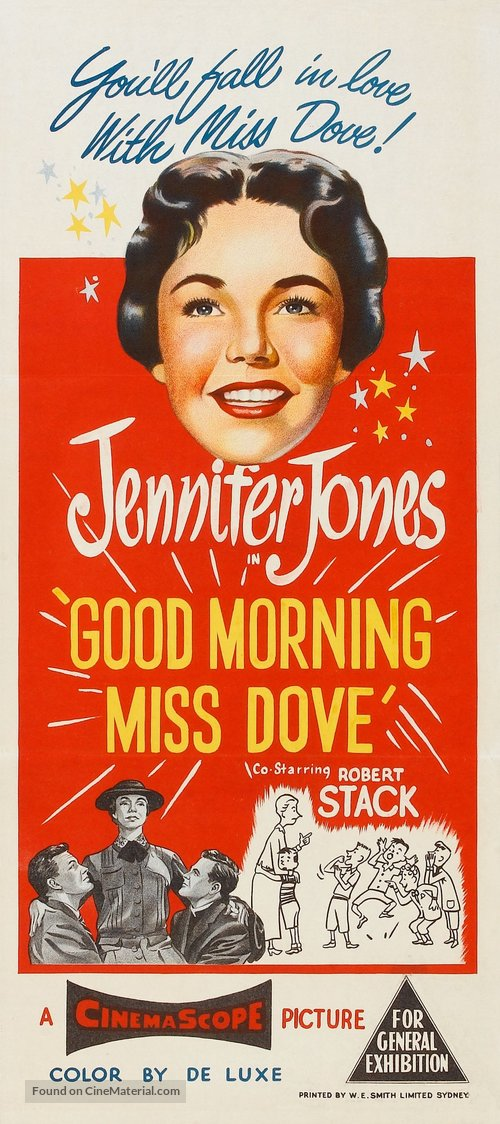Good Morning, Miss Dove - Australian Movie Poster