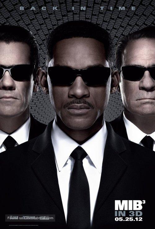 Men in Black 3 - Movie Poster