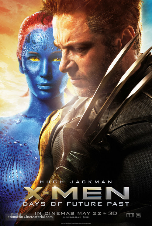 X-Men: Days of Future Past - British Movie Poster