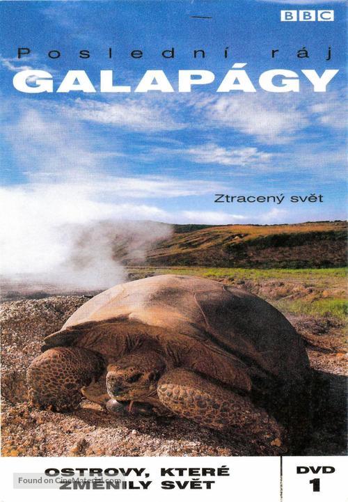 """""""Galápagos"""" - Czech Movie Cover"""