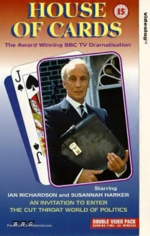 """""""House of Cards"""" - British Movie Cover"""