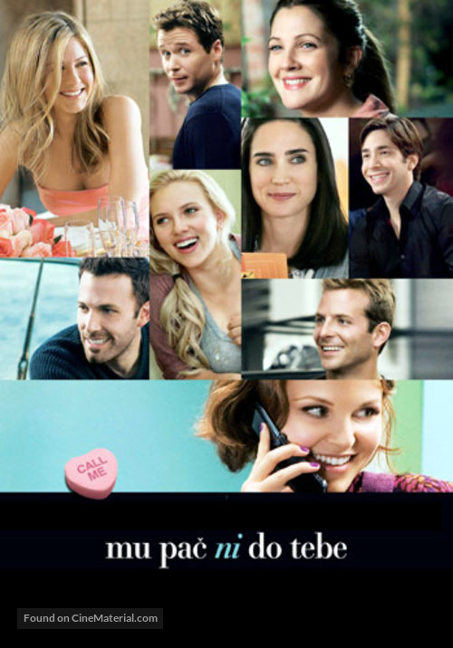 He's Just Not That Into You - Slovenian Movie Poster