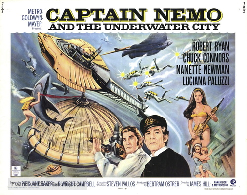 Captain Nemo and the Underwater City - Movie Poster