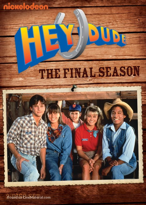 """""""Hey Dude"""" - DVD movie cover"""