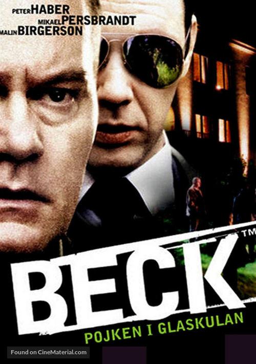 """""""Beck"""" Pojken i glaskulan - Swedish poster"""
