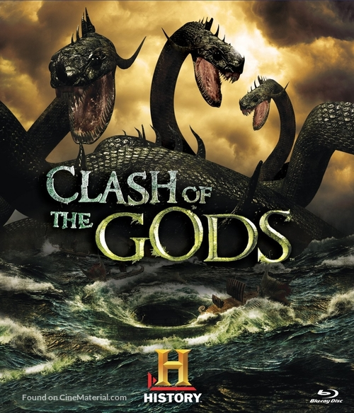 """""""Clash of the Gods"""" - Blu-Ray movie cover"""