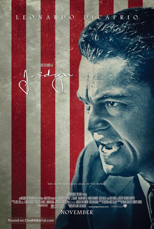 J. Edgar - Movie Poster