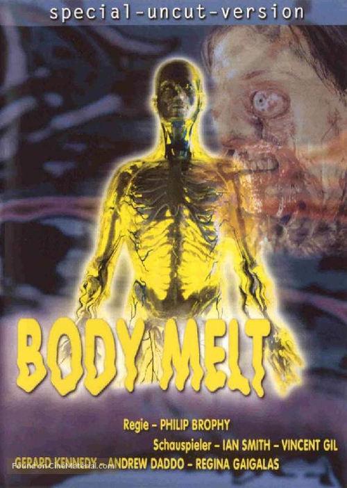 Body Melt - German DVD cover