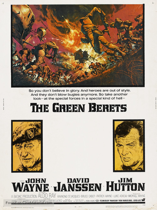 The Green Berets - Movie Poster
