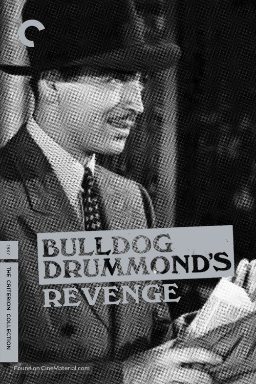 Bulldog Drummond's Revenge - DVD movie cover