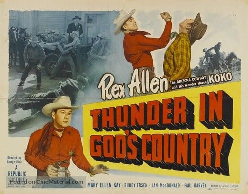Thunder in God's Country - Movie Poster