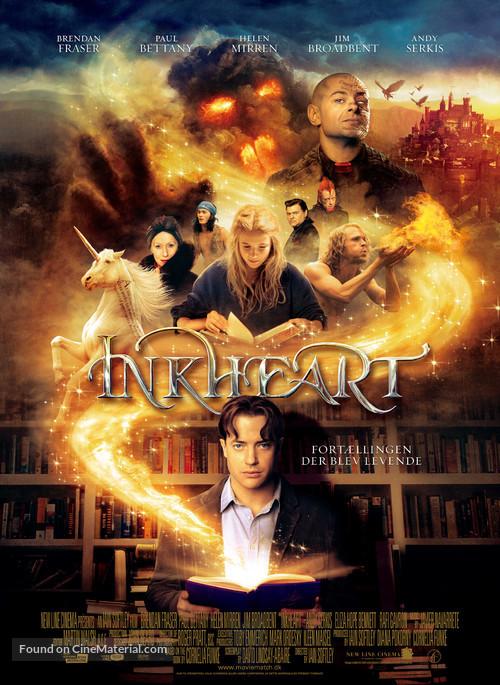 Inkheart - Danish Movie Poster