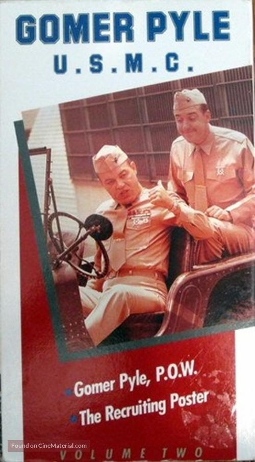 """Gomer Pyle, U.S.M.C."" - VHS movie cover"