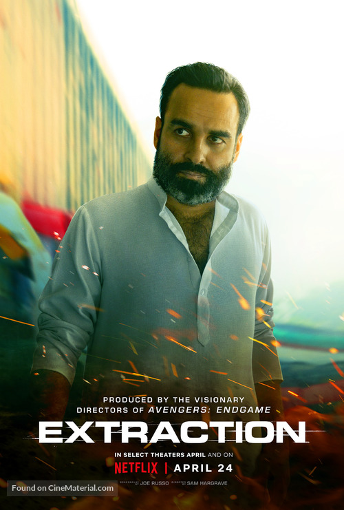 Extraction (2020) ORG Hindi Dual Audio 720p BluRay 800MB ESubs Download