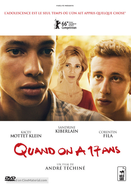 Quand on a 17 ans - French Movie Cover