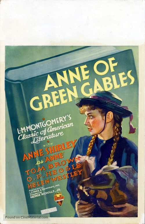 Anne of Green Gables - Movie Poster