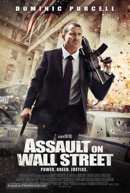 Assault on Wall Street - Movie Poster