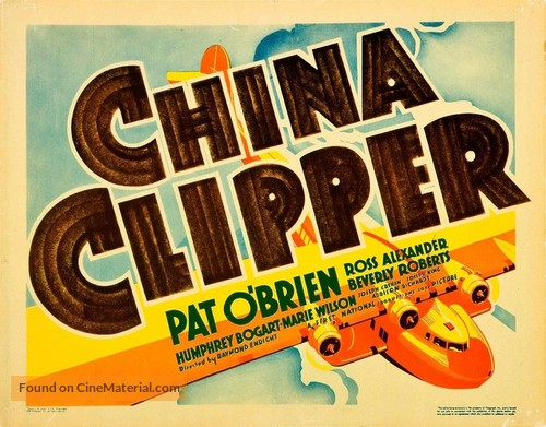 China Clipper - Movie Poster